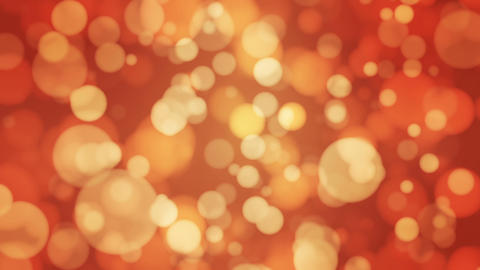 Broadcast Light Bokeh, Golden Orange, Events, Loopable, HD Animation