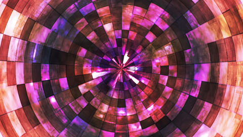 Twinkling Hi-Tech Grunge Flame Tunnel, Multi Color, Corporate, Loopable, HD Animation