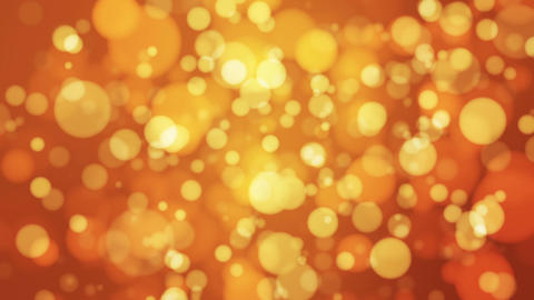 Broadcast Light Bokeh, Golden, Events, Loopable, HD Animation