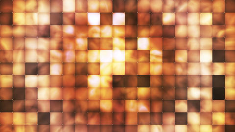 Broadcast Abstract Hi-Tech Smoke Tile Patterns, Orange Brown, Abstract, Loopable, HD Animation