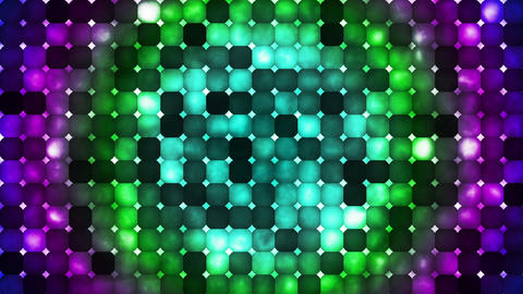 Broadcast Abstract Hi-Tech Smoke Bead Patterns, Multi Color, Abstract, Loop, HD Animation