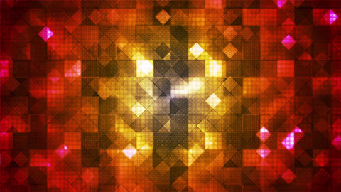 Twinkling Hi-Tech Cubic Diamond Light Patterns 13 Animation