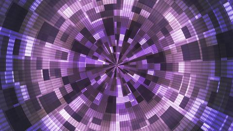 Twinkling Hi-Tech Grunge Flame Tunnel, Purple, Corporate, Loopable, HD Animation