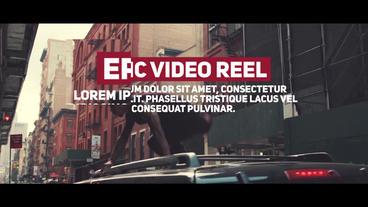 Demo Reel Premiere Pro Template