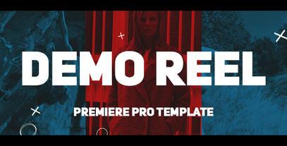 Demo Reel 프리미어 프로 템플릿