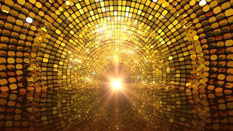 Golden Glittering Gate Animation