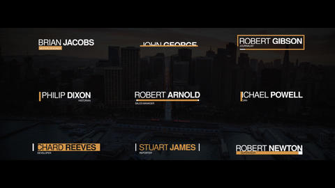 Modern Lower Thirds After Effects Template