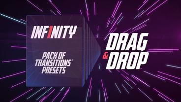 Inf1nity. Pack of Transitions' Presets Premiere Pro Template