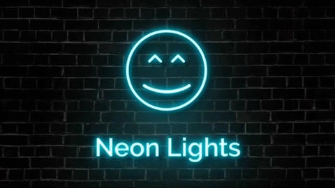 Neon Lights Big Pack CS 5.5 After Effects Template