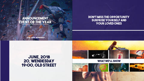 Event Slideshow After Effects Template