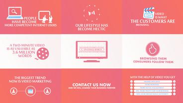 Business Marketing Presentation After Effects Template