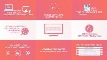 Business Marketing Presentation Template After Effect