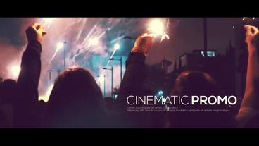 Cinematic Promo Premiere Pro Template