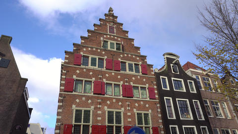 Typical Dutch Building Footage