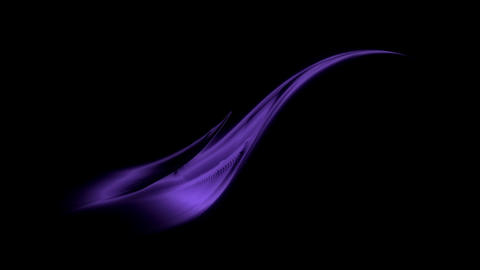 Ultra violet wavy flowing energy, dynamic stream Animation