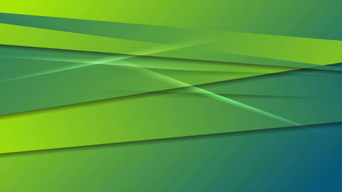 Green and blue abstract stripes motion design Animation