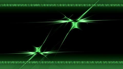 Internet Concept, matrix, seamless loop Stock Video Footage