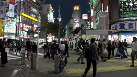 Japan Tokyo Shibuya December 2017 Live Action