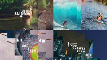 Slideshow After Effects Template