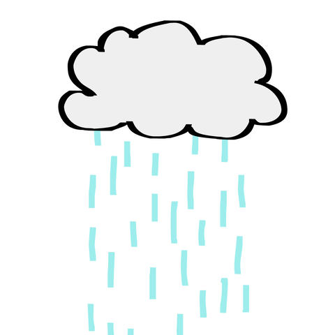 Cloud Rain Animation