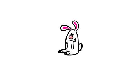 Rabbit hop Animation