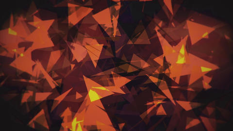 4K Lowpoly Triangles Background Animation 10 Animation