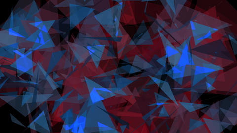 4K Lowpoly Triangles Background Animation 11 Animation