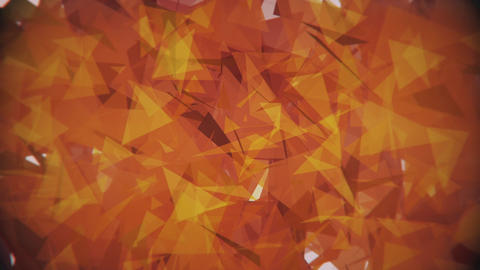 4K Lowpoly Triangles Background Animation 2 Animation