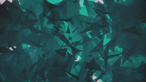4K Lowpoly Triangles Background Animation 6 Animation