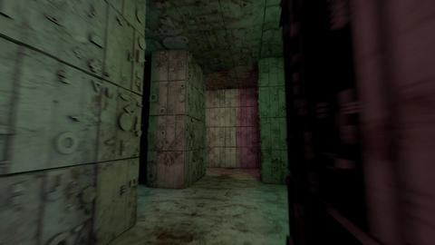 4K Mysterious Fantasy Enigmatic Maze Labyrinth 3D Animation 3 Animation