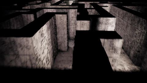 4K Mysterious Fantasy Enigmatic Maze Labyrinth Vintage 3D Animation 7 Animation