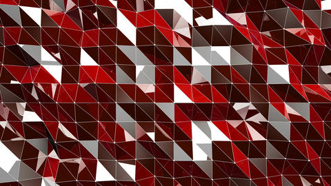 Shiny Lowpoly Abstract Seamless Looping Motion Background 4 Animation