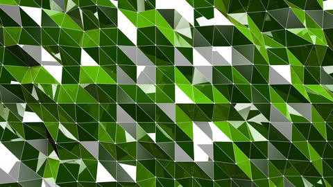 Shiny Lowpoly Abstract Seamless Looping Motion Background 6 Animation