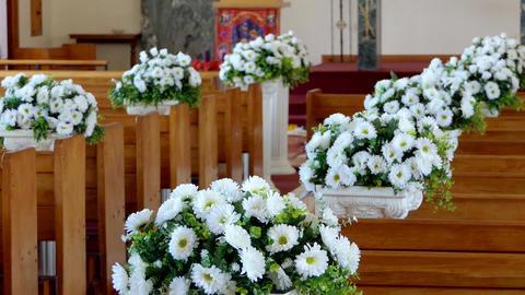 shot of beautiful wedding flower or bouquet ビデオ