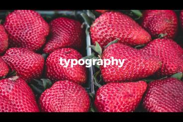 Stomp Typography Premiere Proテンプレート
