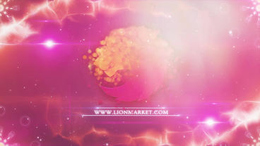 Light Parallax Colorful Logo After Effects Template