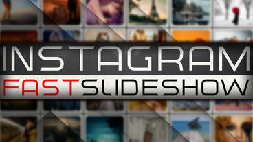 Instagram Fast Slideshow Apple Motion Template
