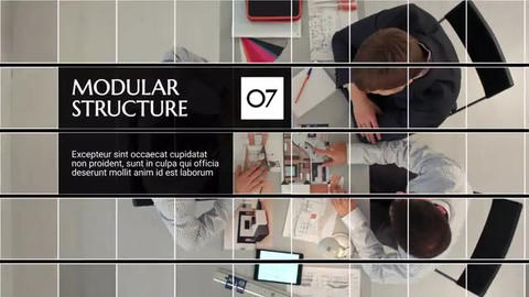 Square Corporate After Effects Template