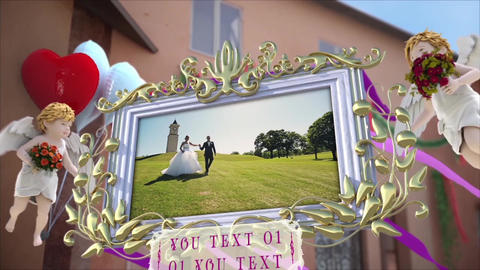 Wedding Photo Frame After Effects Template