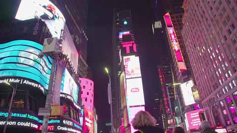 Times Square. Manhattan, New York. United States Footage