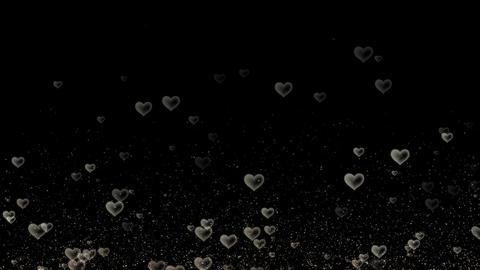 Hearts Overlay Loop Animation