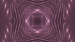 VJ Fractal Pink Kaleidoscopic Background stock footage