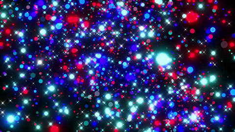 VJ Loops Flying Particles 0