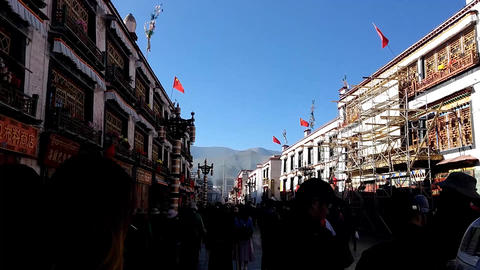 Tibetan Pilgrimage Footage
