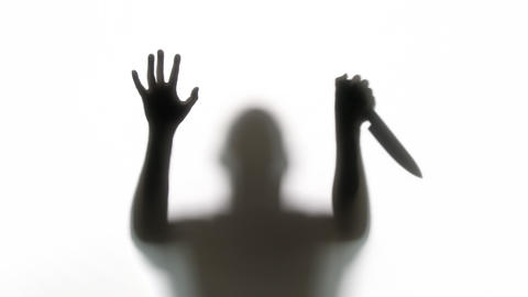 Silhouette of a Zombie Footage