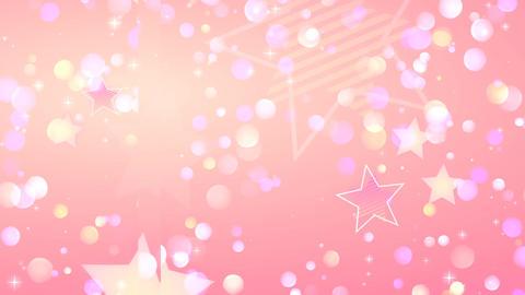 Anime style Light pink glitter CG動画素材