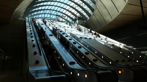 Canary Wharf Finance Footage