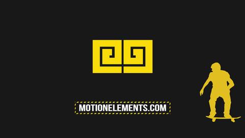 Skater Logo Premiere Pro Template