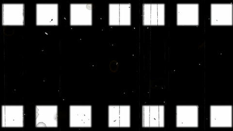 old film strip Animation