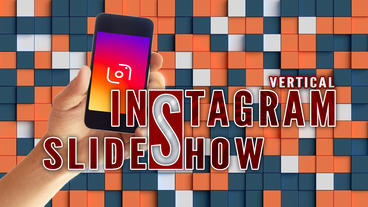 Vertical instagram promo Apple Motion Template